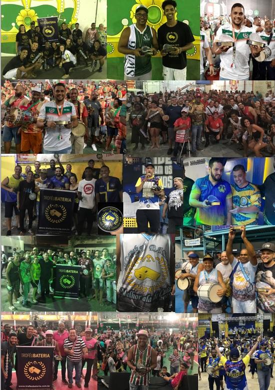 Fotos entregas Troféu Bateria 2019