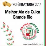 Melhor Ala de Cuíca 2017: Grande Rio
