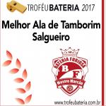 Melhor Ala de Tamborim 2017: Salgueiro
