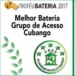 Melhor Bateria Acesso 2017: Cubango